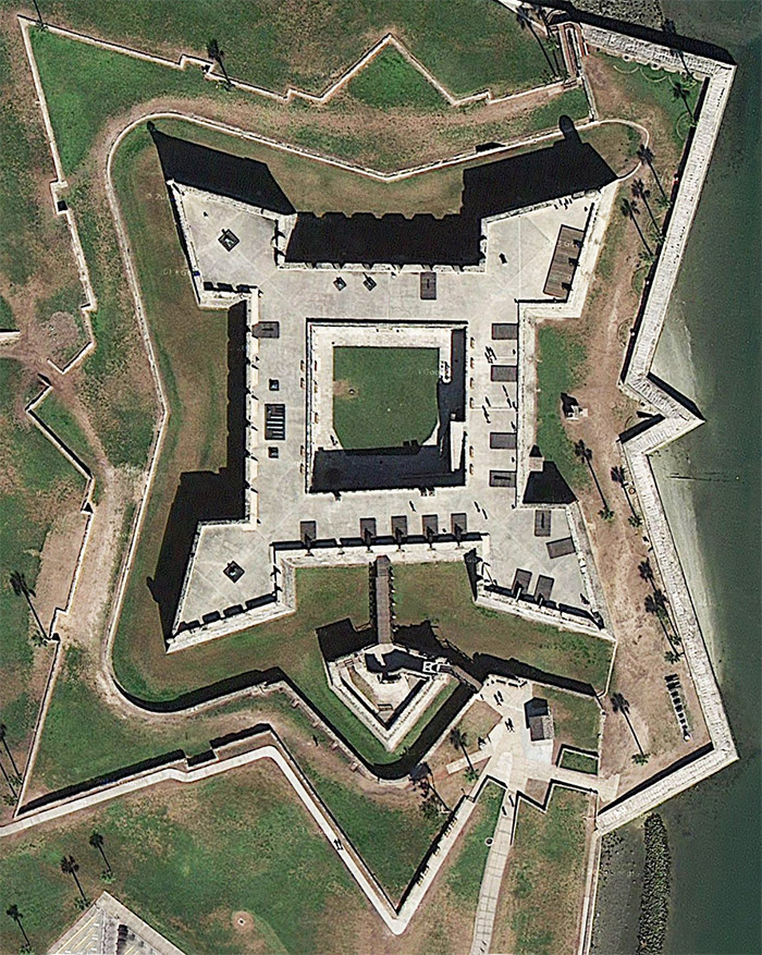 Castillo de San Marcos @ Starforts.com