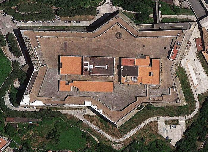 Castel Sant'Elmo, Nápoly, Olaszország