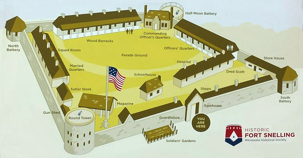 Fort Snelling @ Starforts.com on