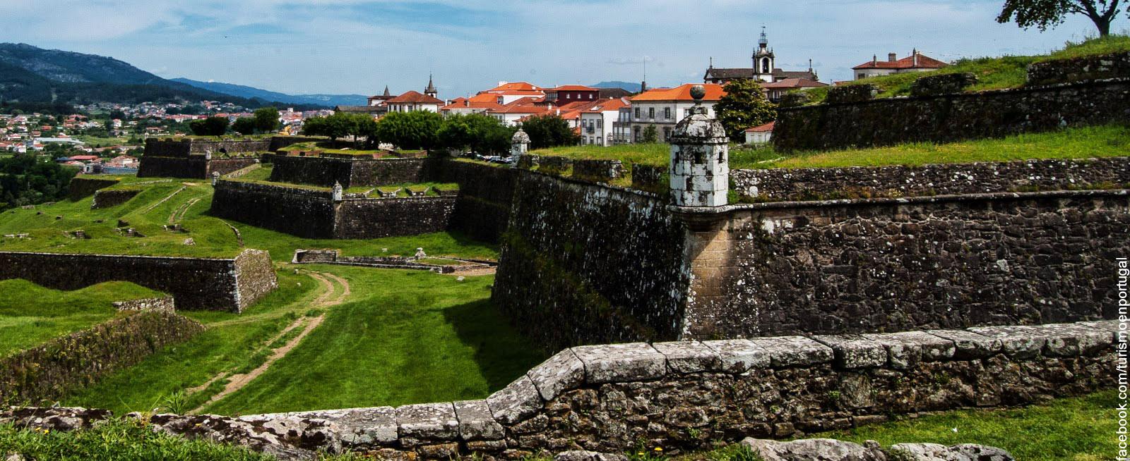 Praçaforte De Valença Starfortscom - Valenca portugal map
